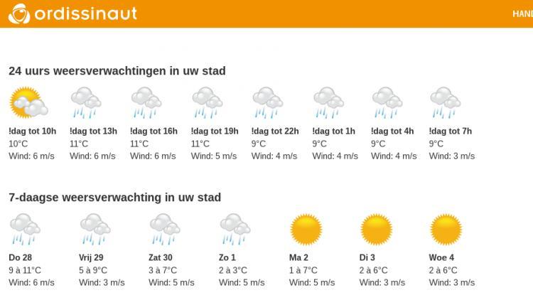 weer ordissinaut.nl