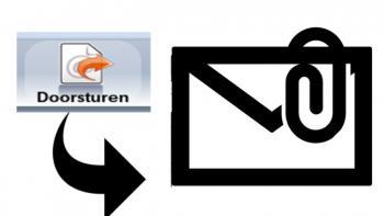 Een e-mail doorsturen