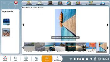 Een foto draaien en bijsnijden met de toepassing Foto's